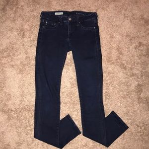 Super skinny black jeggings